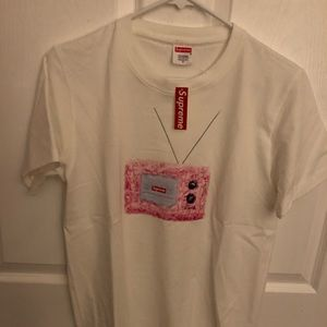 Supreme television t-shirt size small